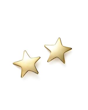 14K Yellow Gold Medium Star Stud Earrings - 100% Exclusive