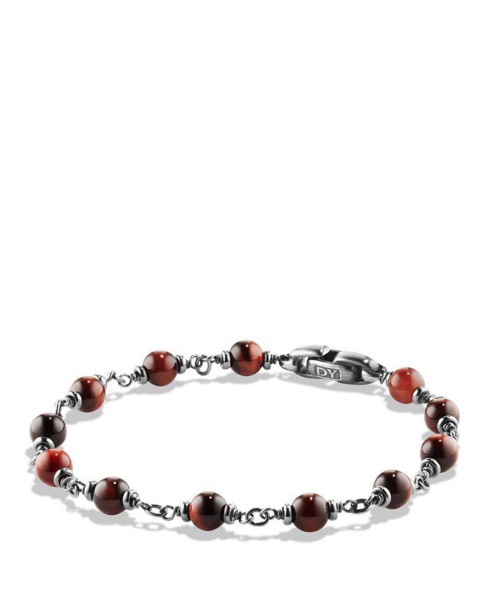 David Yurman - Spiritual Beads Rosary Bracelet in Red Tiger Eye