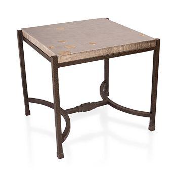Michael Aram - Fallen Leaves Square Side Table