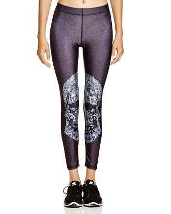 Terez - Crystal Skull Leggings