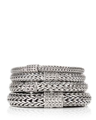 Classic Chain Sterling Silver Medium Bracelet