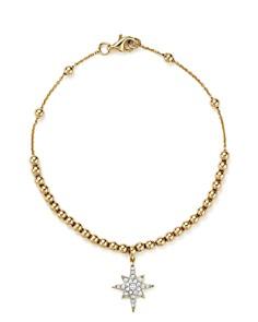 KC Designs - Diamond Starburst Bead Bracelet in 14K Yellow Gold