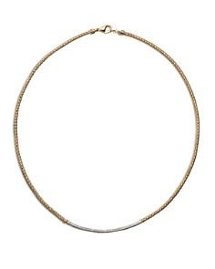 "John Hardy Women's Classic Chain 18K Gold Diamond Pavé Station Mini Chain Necklace, 18"" - Bloomingdale's_0"