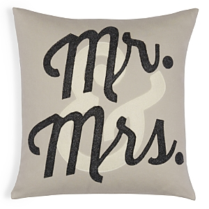 Alexandra Ferguson Mr. & Mrs. Decorative Pillow, 16 x 16