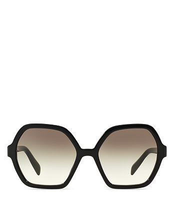 33e7e66fc5d Prada - Women s Oversized Octagon Sunglasses