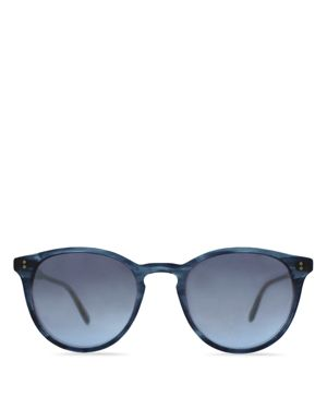 Garrett Leight Surfers Healing Hampton Round Sunglasses, 48mm