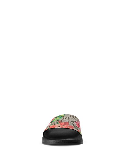 d705a6fa799 Gucci Flower Black Womens Flats P. Free Gucci Womens Beige Leather ...