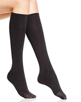 HUE - Bandless Knee-High Socks