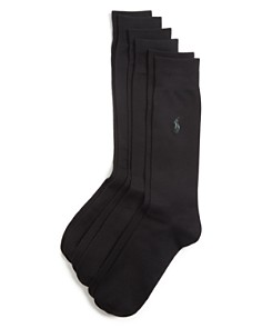 Polo Ralph Lauren Solid Dress Socks, Pack of 3 - Bloomingdale's_0