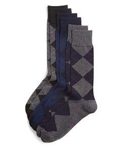 Polo Ralph Lauren - Argyle Dress Socks, Pack of 3