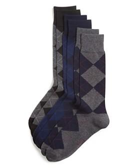 Polo Ralph Lauren - Argyle Dress Socks, Pack of 3