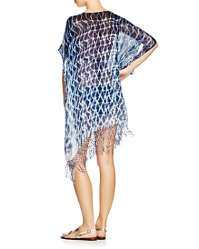 Gypsy05 Sand - Tie Dye Easy Tunic Swim Cover-Up