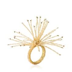 Kim Seybert Spider Bead Burst Napkin Ring - Bloomingdale's Registry_0