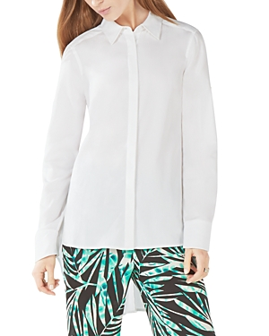 Bcbgmaxazria Aylin High/Low Shirt