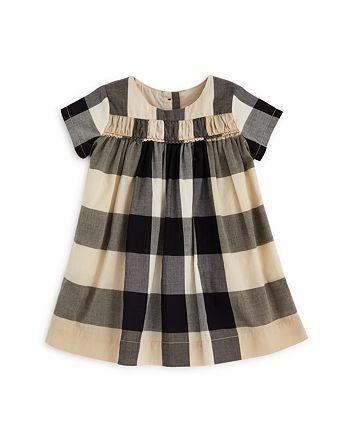 f6a7376631e9 Burberry Girls' Ariadne Check Dress - Baby   Bloomingdale's