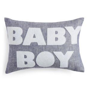 Alexandra Ferguson Baby Boy Decorative Pillow, 10 x 14
