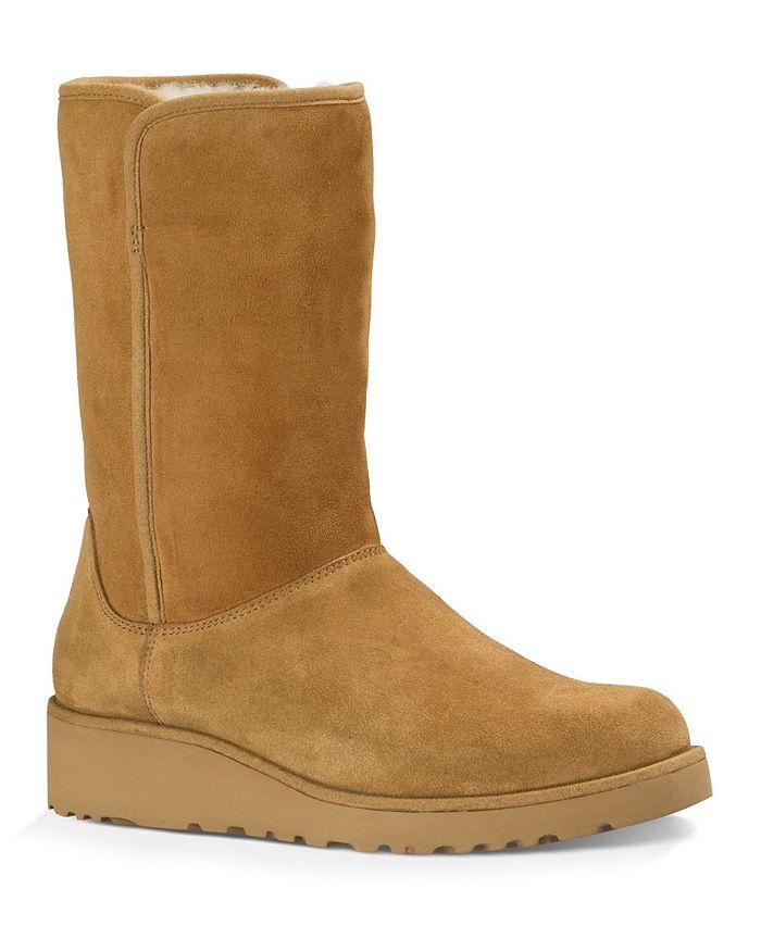 Ugg 174 Amie Slim Short Wedge Boots Bloomingdale S