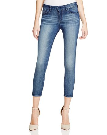 DL1961 - Florence Instasculpt Cropped Skinny Jeans in Orwell