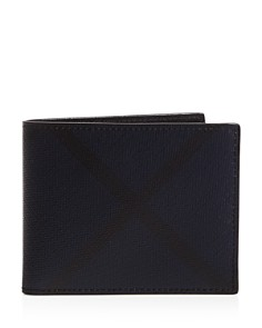 Burberry - Smoked Check Wallet