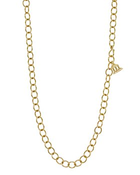 Temple St. Clair - Temple St. Clair 18K Yellow Gold Oval Chain Necklace, 24""