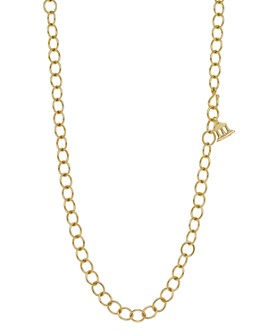 """Temple St. Clair - Temple St. Clair 18K Yellow Gold Oval Chain Necklace, 24"""""""
