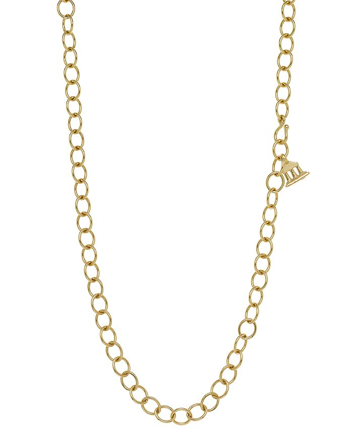 Temple St. Clair - 18K Yellow Gold Oval Chain Necklace, 24""
