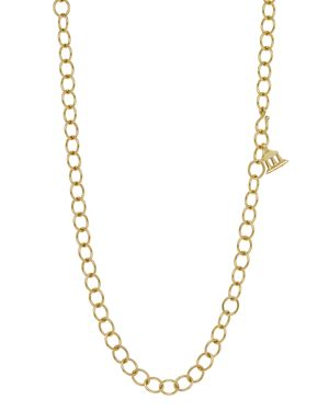 Temple St. Clair 18K Yellow Gold Oval Chain Necklace, 24
