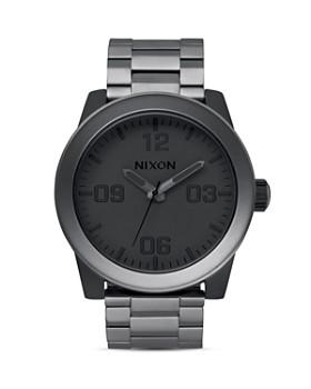 Nixon - Corporal Matte Gunmetal Watch, 48mm