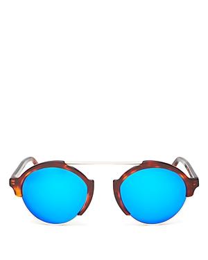 Illesteva Milan Iii Mirrored Sunglasses, 54mm