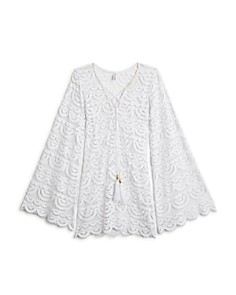 PilyQ - Girls' Little Noah Tunic Cover Up - Big Kid