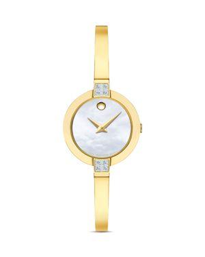 Bela Watch, 25Mm in White/Gold