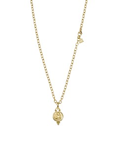 Temple St. Clair - Temple St. Clair 18K Yellow Gold Angel Pendant and Ball Chain