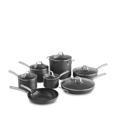 Classic Nonstick 14 Piece Cookware Set by Calphalon