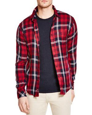 Rails Lennox Plaid Regular Fit Button-Down Shirt