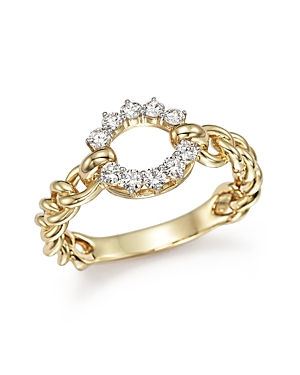 Diamond Circle Ring in 14K Yellow Gold, .30 ct. t.w. - 100% Exclusive
