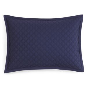 Hudson Park Double Diamond Quilted King Sham - 100% Exclusive