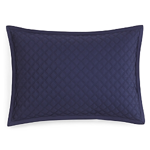 Hudson Park Double Diamond Quilted Standard Sham - 100% Exclusive