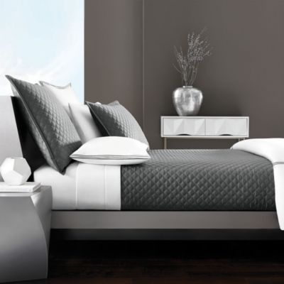 Hudson Park Double Diamond Coverlet, Twin - 100% Exclusive