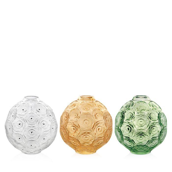 Lalique - Anemone Bud Vases
