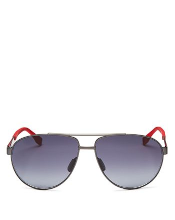 301c801450 HUGO HUGO BOSS Men s Polarized Aviator Sunglasses