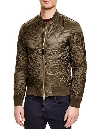 b28a8becf3c Burberry Grandy Quilted Bomber Jacket