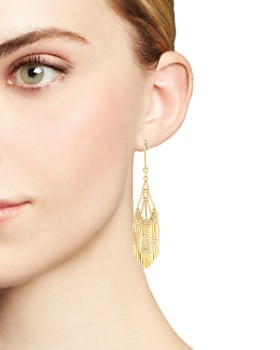 Bloomingdale's - 14K Yellow Gold Beaded Dangle Earrings - 100% Exclusive
