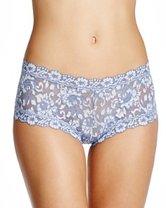 Hanky Panky - Cross-Dyed Lace Boyshort