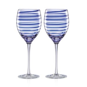 kate spade new york Charlotte Street Wine Glass, Set of 2