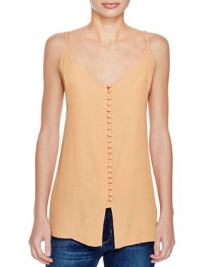 Knot Sisters Apricot Crescent Tank