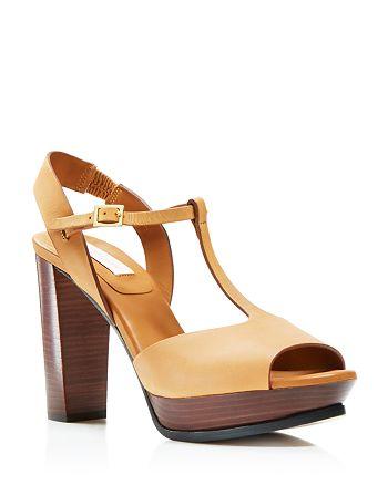 daaed3a6b3fc See by Chlo eacute  - Alex T-Strap Platform Sandals