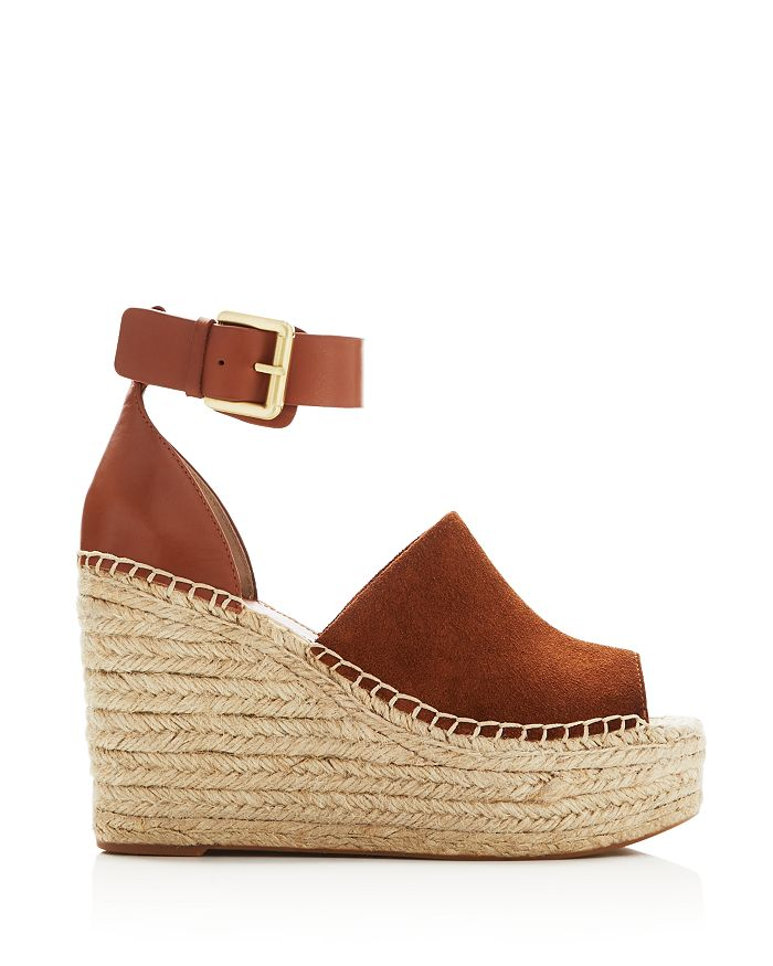 a72a192196c Women's Adalyn Ankle Strap Espadrille Platform Wedge Sandals