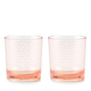 kate spade new york Patio Floral Blush Acrylic Glasses