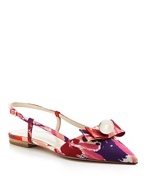 Frances Valentine Caroline Slingback Pointed Toe Flats