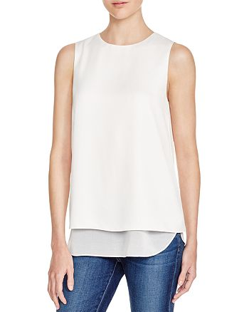 Cooper & Ella - Avery Tiered Sleeveless Blouse